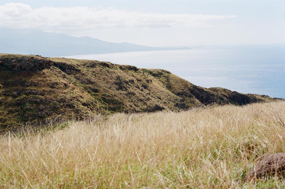 Lahaina Pali Trail Maui Hawaii